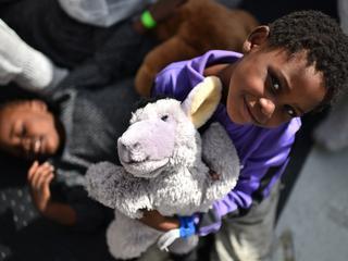 Meer dan 33 miljoen gedoneerd voor vluchtelingen in VS en daarbuiten