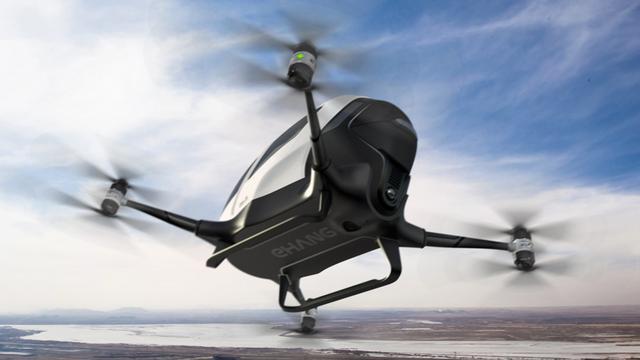 Chinees bedrijf toont eerste passagiersdrone ter wereld