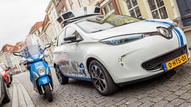 Parkeerbeheer presenteert elektrische scanauto