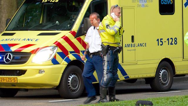 Fietser gewond bij aanrijding in Noord