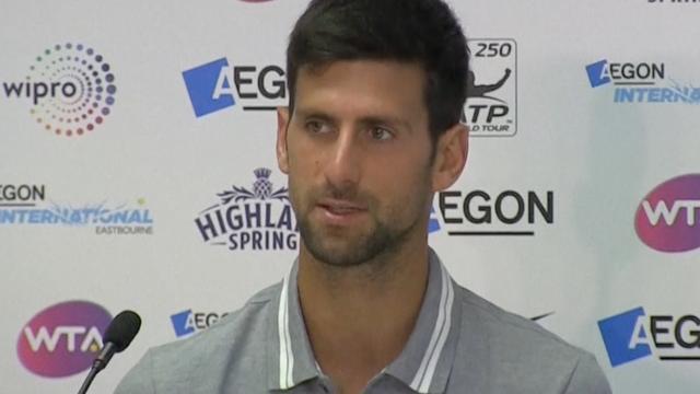 Djokovic: 'Ik hoop snel weer terug te zijn op het gewenste niveau'
