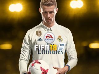 Cristiano Ronaldo op de cover van het spel
