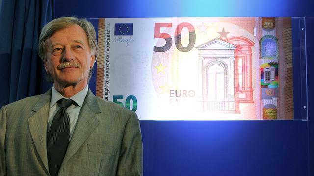 ECB presenteert nieuw bankbiljet van 50 euro
