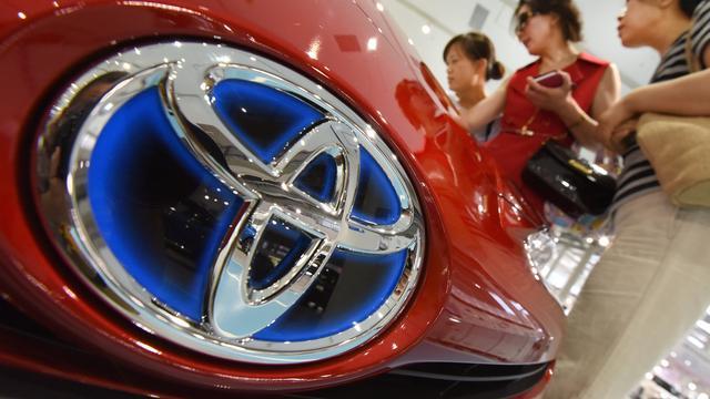 Winst autofabrikant Toyota onder druk door dure yen