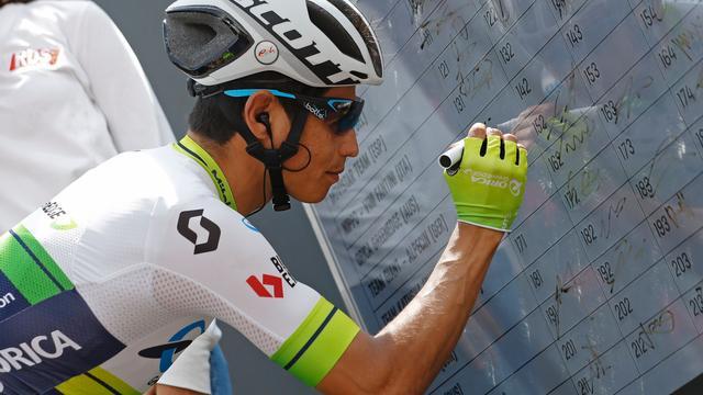 Chaves blijft geloven in eindzege Giro d'Italia