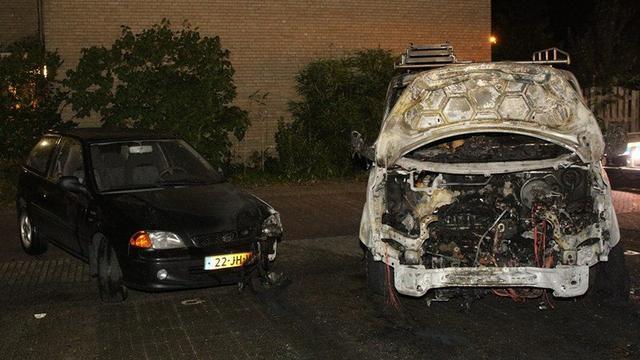 Leiderdorp opnieuw opgeschrikt door autobrand