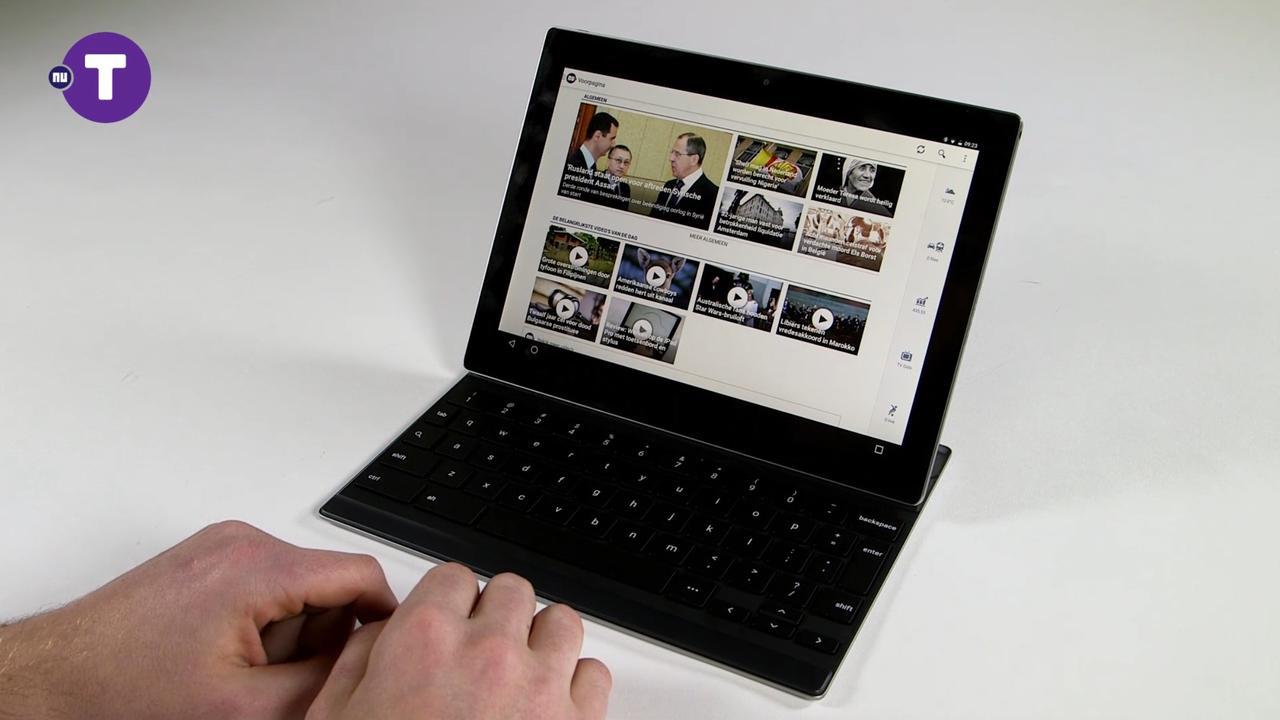 Review: Hoe bevalt Googles eerste Android-tablet Pixel C?