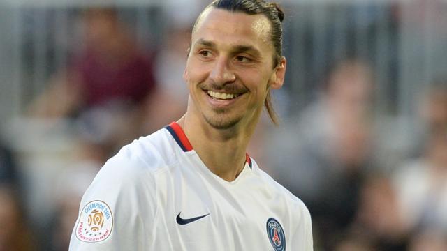 Ibrahimovic vertrekt na dit seizoen bij Paris Saint-Germain