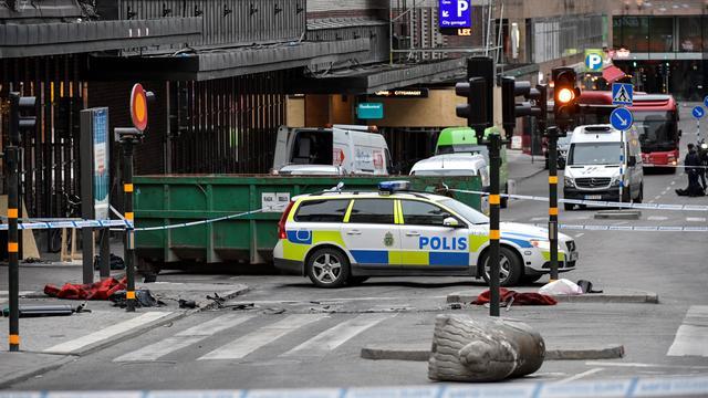 Politie arresteert chauffeur van vrachtwagen aanslag Stockholm