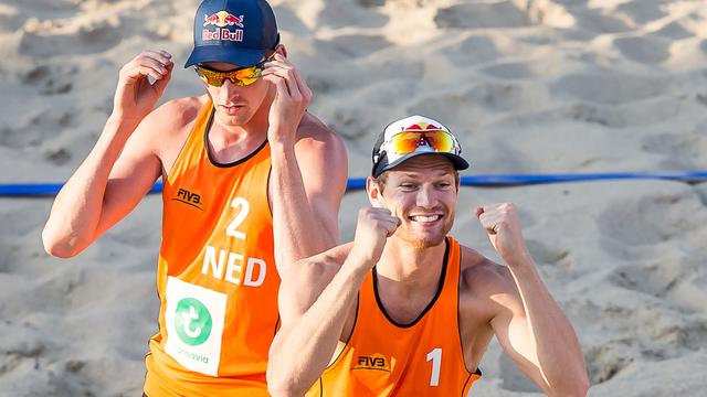 Brouwer/Meeuwsen wint Nederlands onderonsje in kwartfinales EK