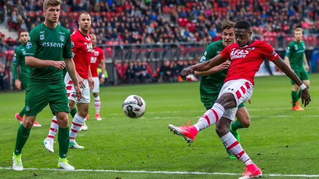 AZ en FC Groningen scoren niet, Zwolle en Excelsior in evenwicht