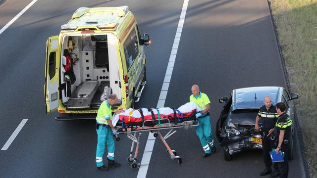 Zeven keer ongeluk op A4 bij Leiden