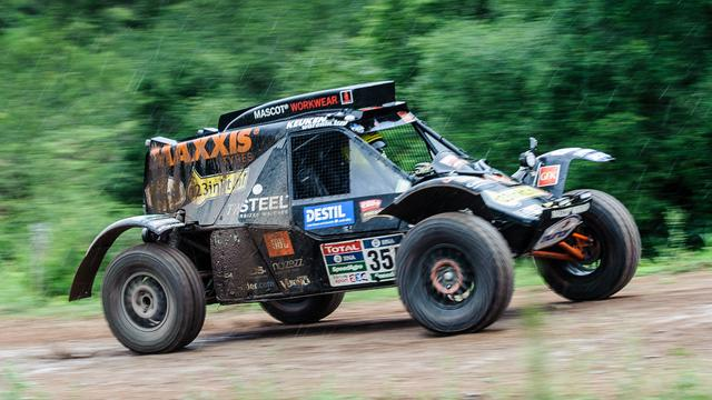 Tom Coronel moet opgeven in vierde etappe Dakar Rally