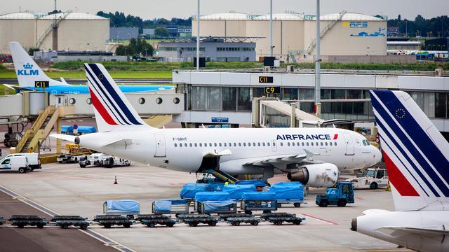 Vluchten Air France-KLM naar Amerika minder vol