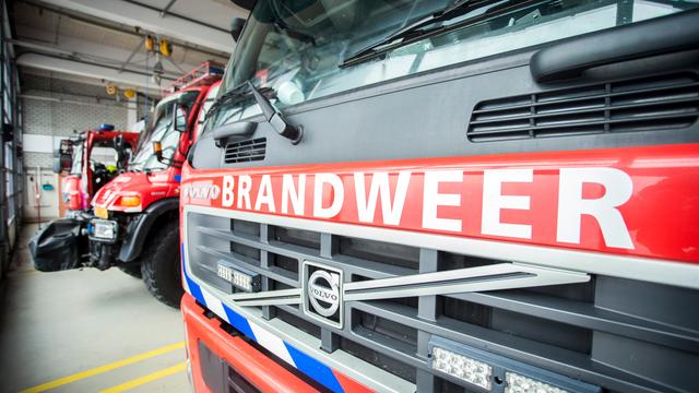 Woningbrand in Stikkerstraat Goes