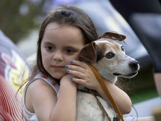 Huisdieren onderzocht in hersenscanner