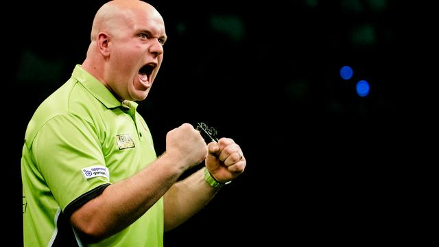 Van Gerwen bereikt kwartfinales World Grand Prix of Darts