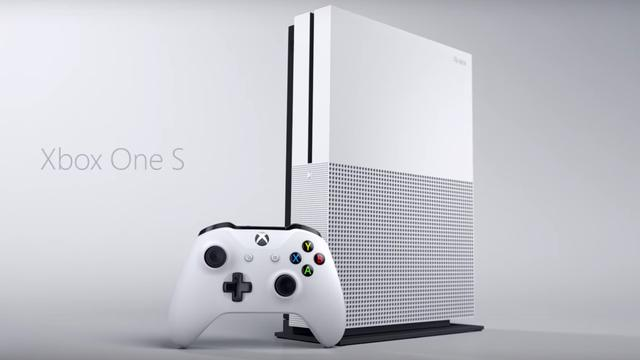 Xbox One S vanaf 2 augustus verkrijgbaar