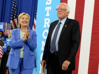 """""""Ik zal er alles aan doen om te zorgen dat Clinton de nieuwe president wordt"""""""