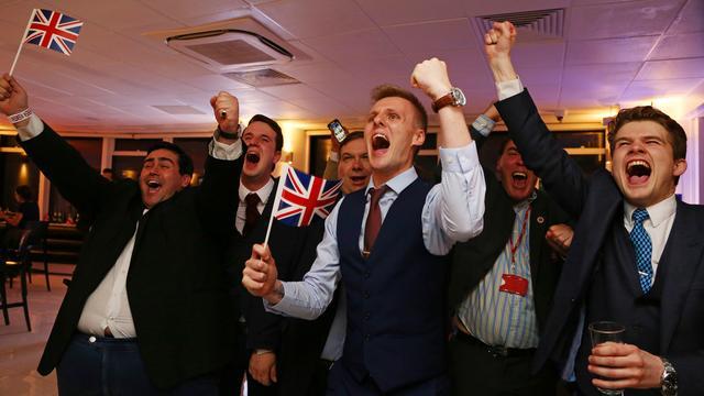 Er rolde ook goed nieuws voor banken uit de Brexit