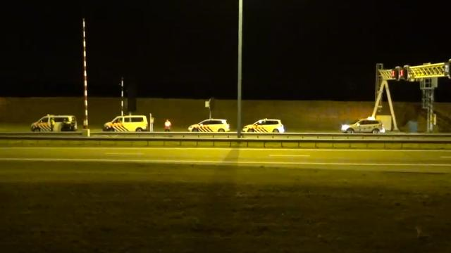Vier gewonden bij zwaar ongeval Westerscheldetunnel