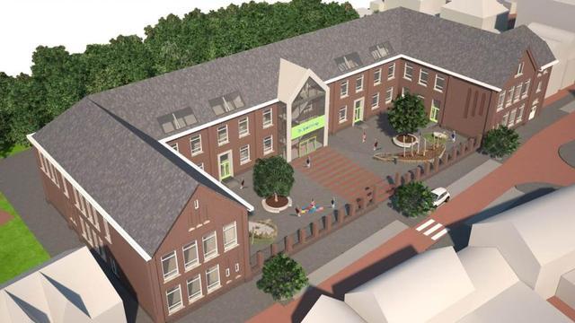 Strijense aannemer aan de slag met brede school Oudenbosch