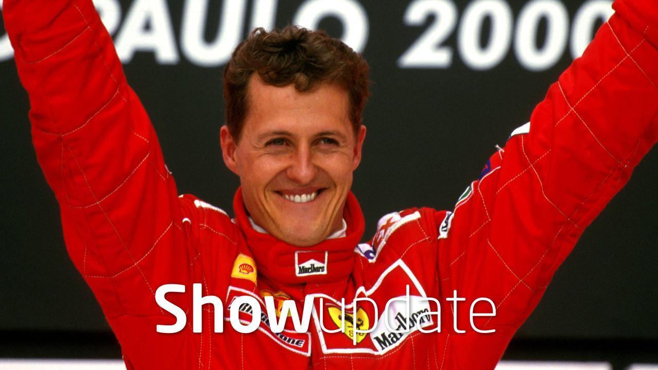 Show Update: hoop voor Michael Schumacher
