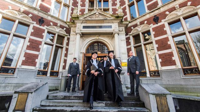 Universiteit Utrecht viert 380e verjaardag