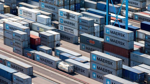 Bescheiden groei export