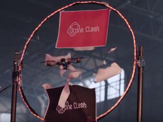 Teams proberen elkaars drones neer te halen in DroneClash
