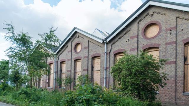 Bovenbouwwerkplaats NS wordt creatieve fabriek