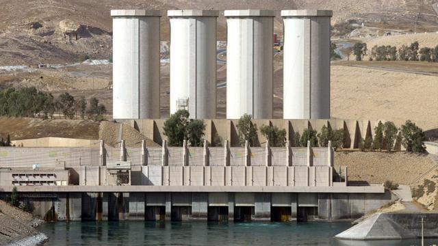 Italië stuurt troepen naar Irak ter bescherming van reparateurs Mosul-dam