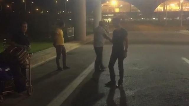 Wegen afgezet door raketaanval bij Turkse luchthaven