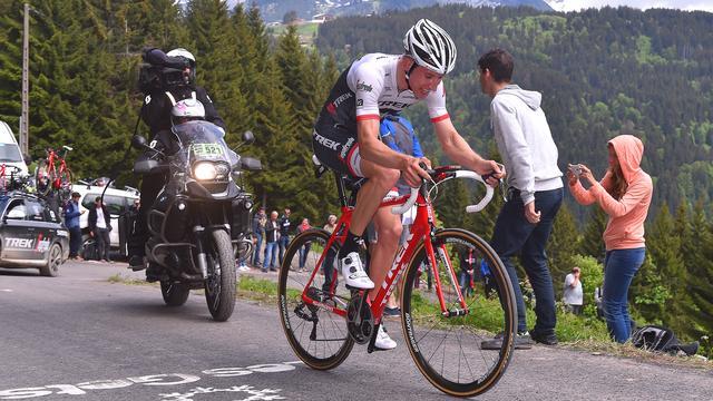 Mollema zesde in tweede etappe Dauphiné, dagzege Herrada