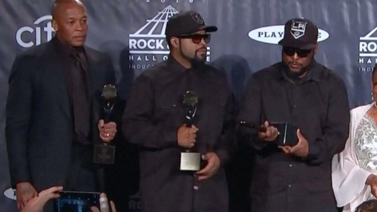 Dr. Dre over opname N.W.A. in Rock and Roll Hall of Fame