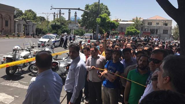 Iran wijst medeleven Trump af na aanslagen Teheran