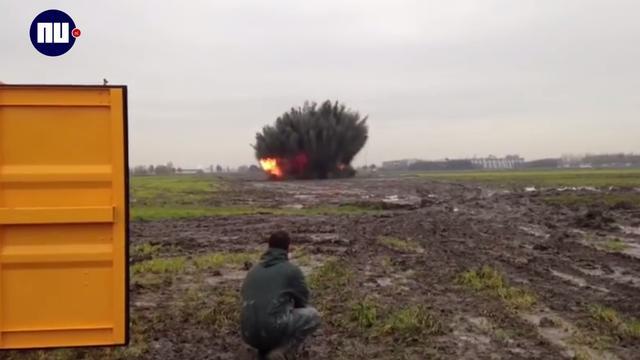 Bommen geruimd bij voormalig Nazi-schijnvliegveld Rijsenhout