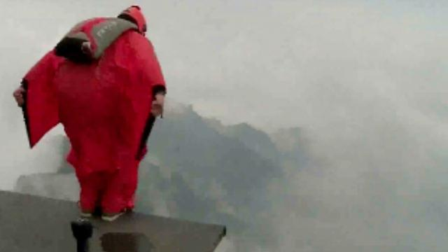 Kwalificaties vijfde WK wingsuit in China