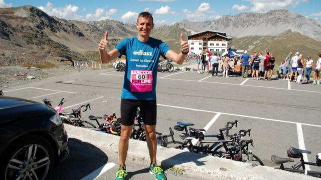 Frank van Groesen schrijft geschiedenis met run