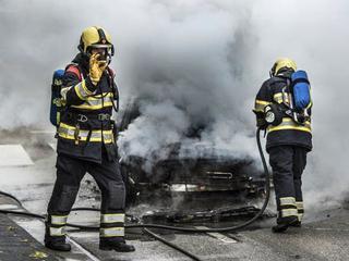 Getuige zag man wegrijden na brand