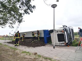 De brandweer heeft geen slachtoffers onder het puin aangetroffen