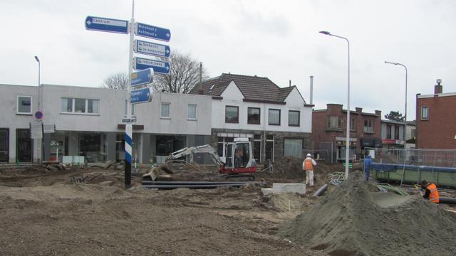 Ondernemers verdeeld over werkzaamheden Molenstraat-Prinsenstraat