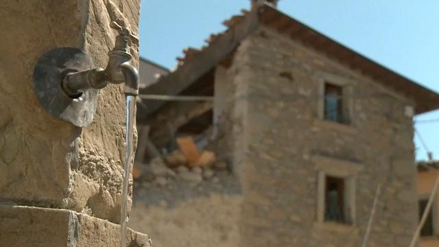 In het Italiaanse Cascello staat de tijd stil na aardbeving