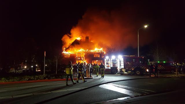 Restaurant in Tilburg verwoest na uitslaande brand
