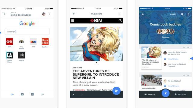 Nieuwe berichten-app Google richt zich op kleine groepen