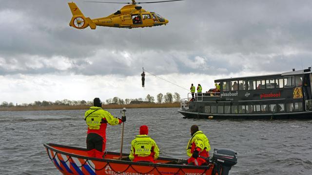 Grote oefening hulpdiensten op Kagerplassen