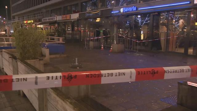 Nachtportier gewond bij schietincident Rotterdam