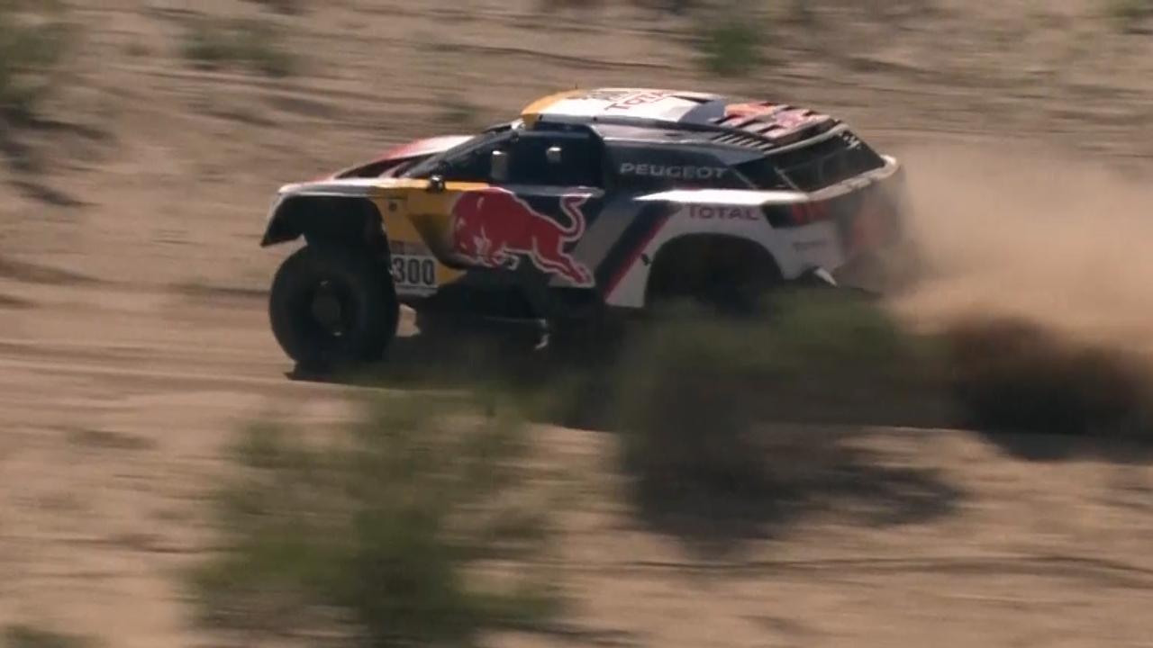 Bekijk de hoogtepunten van dag 3 van de Dakar Rally