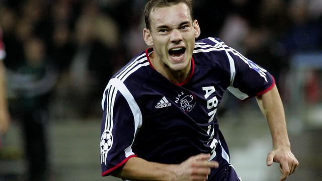 Hoogtepunten van Sneijder in de Champions League