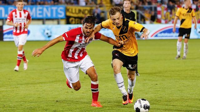 NAC redt in blessuretijd punt tegen Jong PSV